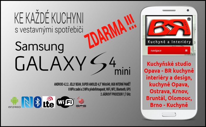 Samsung Galaxy S4 mini ZDARMA!!!