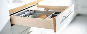 ORGA-LINE pro dřevěné zásuvky
