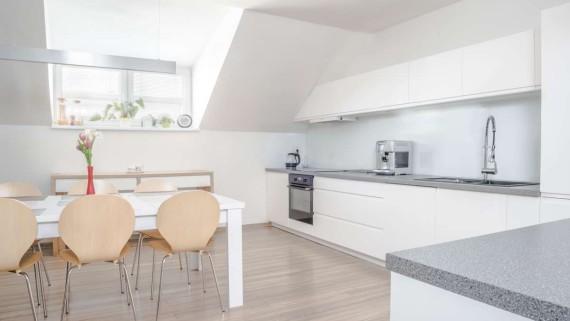 Realizace kuchyně a obývacího pokoje Bolatice