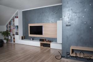 Realizace kuchyně a obývacího pokoje Bolatice (3)