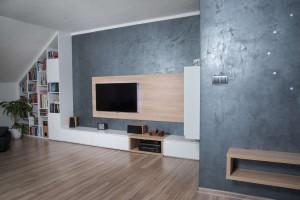 Realizace kuchyně a obývacího pokoje Bolatice (3)-nové