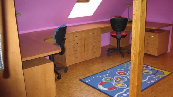 Realizace dětské pokoje Opava
