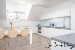 Realizace kuchyně a obývacího pokoje Bolatice (1)