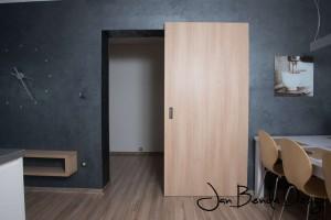 Realizace kuchyně a obývacího pokoje Bolatice (6)