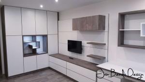 Realizace obývací pokoj a pracovna Kateřinky (1)